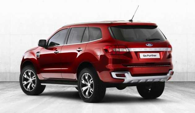 Ford Everest Concept rear