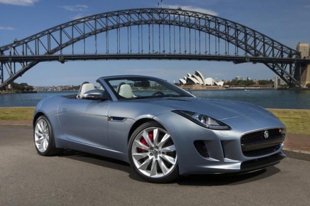 Jaguar F-Type-Australia