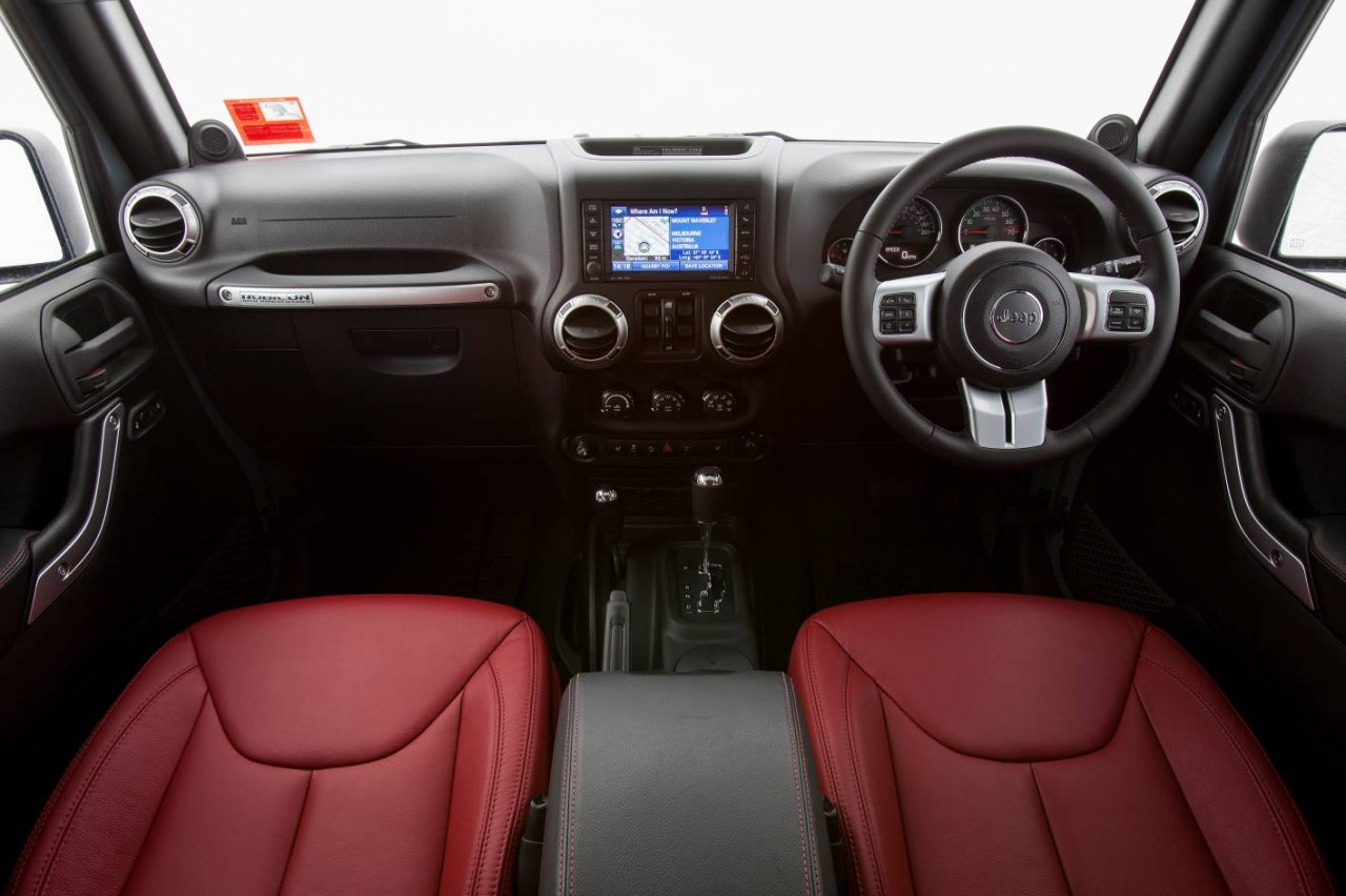 Jeep wrangler rubicon 10th anniversary edition now on sale performancedrive for Jeep wrangler rubicon interior