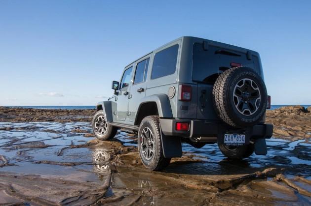 Jeep Wrangler Rubicon 10th Anniversary Edition rear