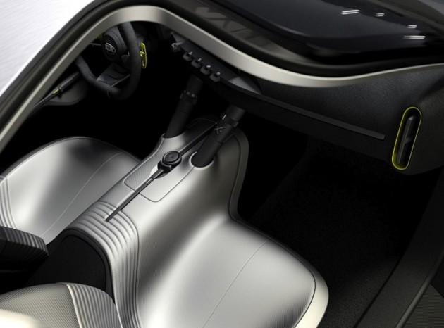 Kia concept 2013 Frankfurt-interior