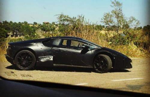 Lamborghini Cabrera prototype-side