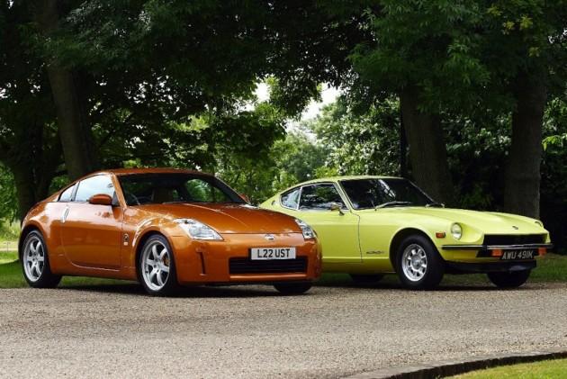 Nissan 350Z and Datsun 240Z