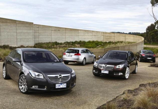 Opel Insignia range