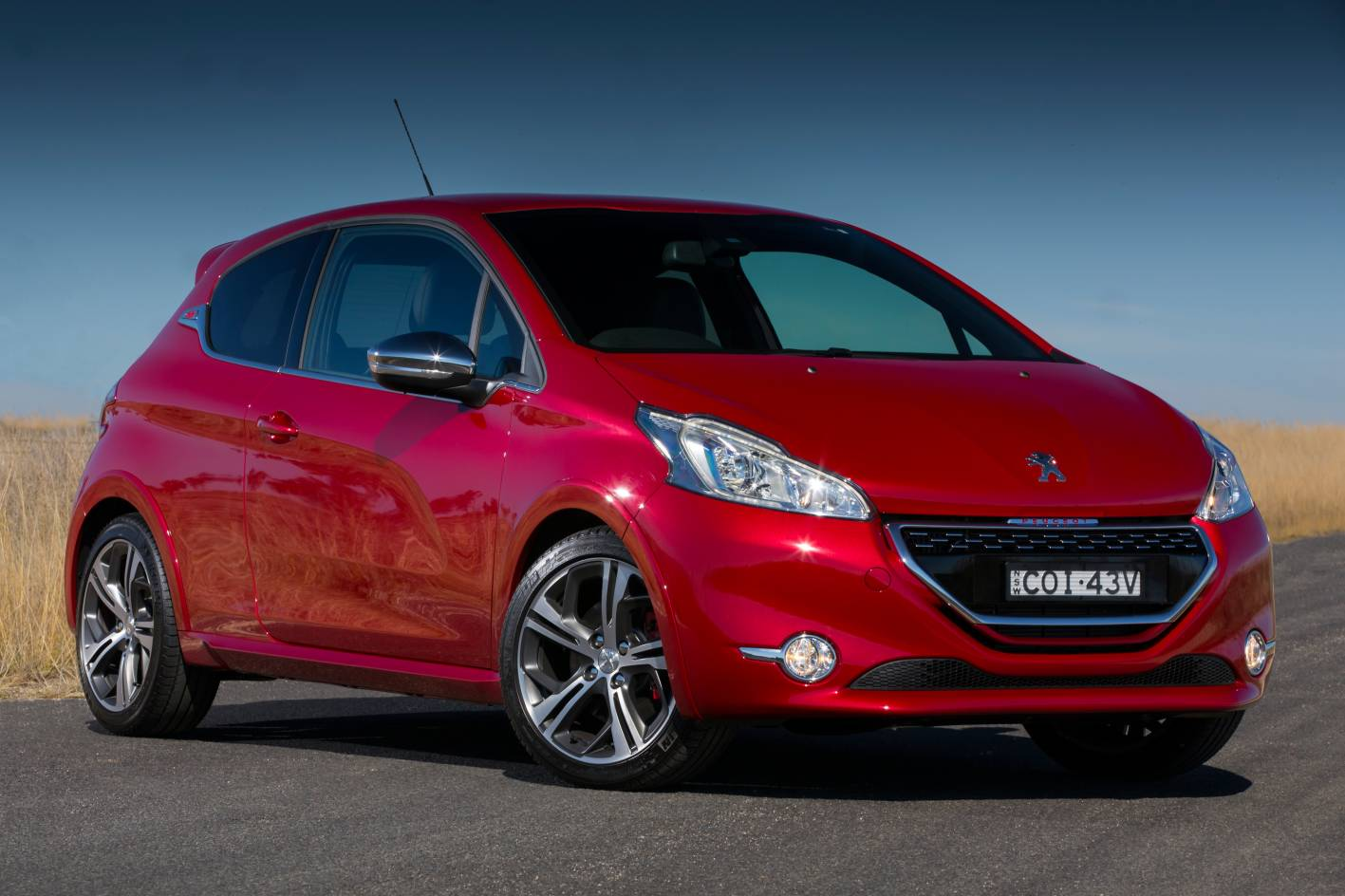 peugeot 208 gti now on sale in australia from 29 990. Black Bedroom Furniture Sets. Home Design Ideas