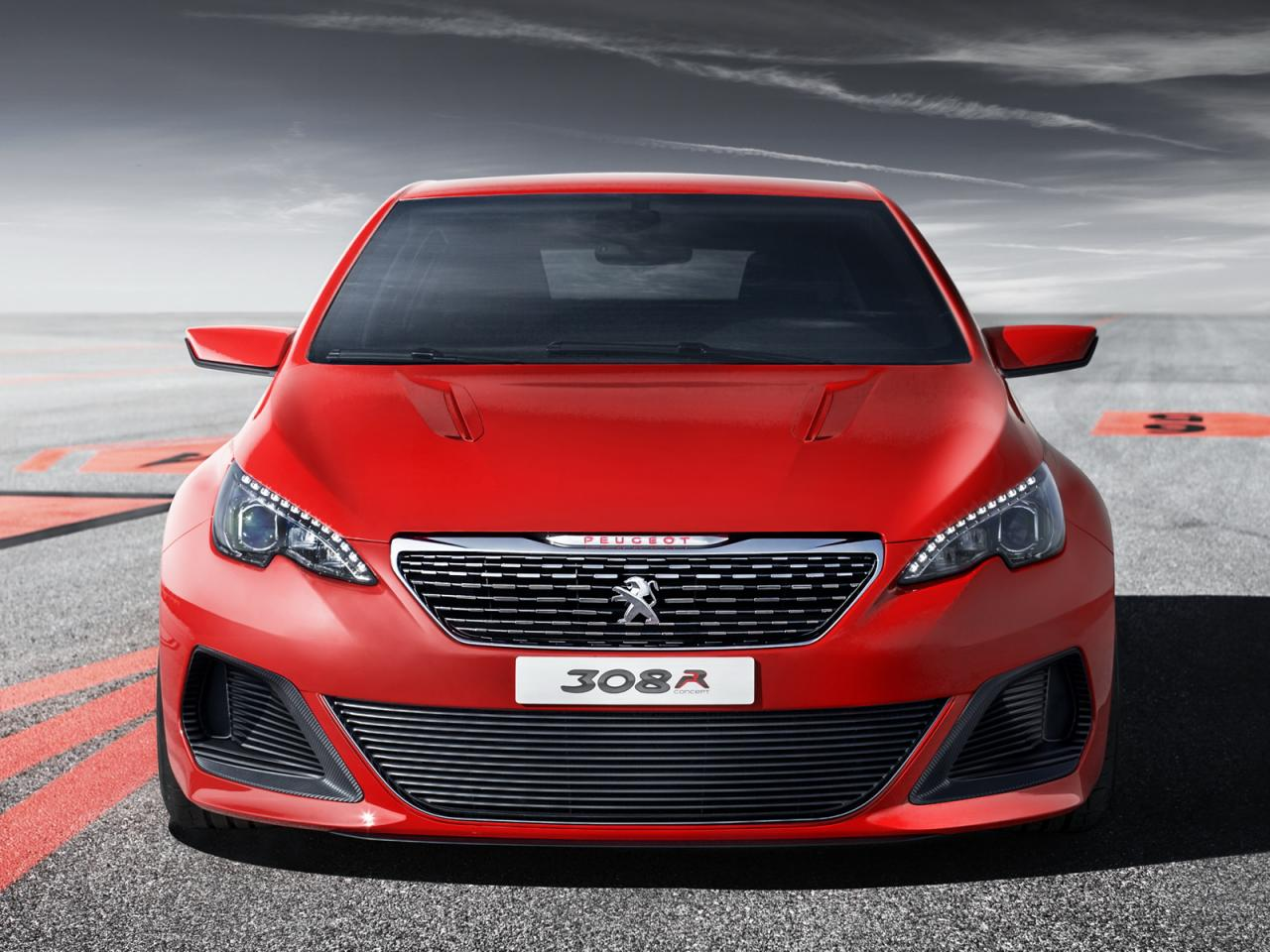 peugeot 308 r concept revealed gets rcz r engine performancedrive. Black Bedroom Furniture Sets. Home Design Ideas