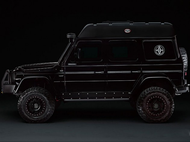 Project Valiant Mercedes-Benz G 63 AMG side