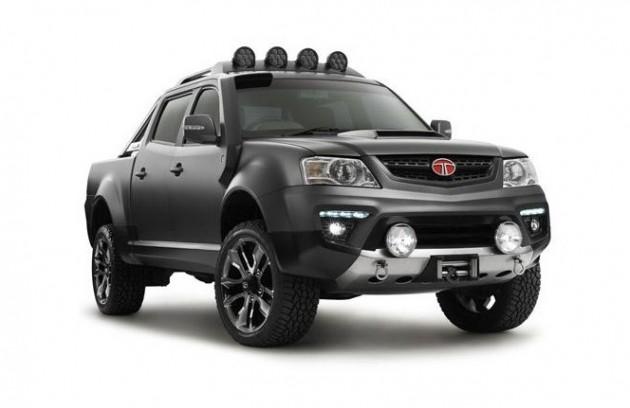 Tata Xenon Tuff Truck concept-front