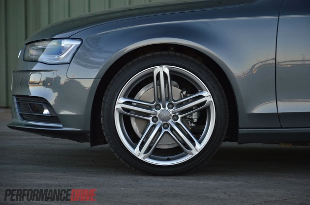 2013 Audi A4 Sport Edition front brakes