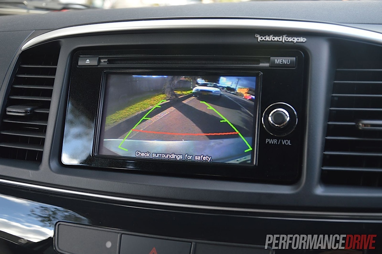 2013 Mitsubishi Lancer Ralliart Sportback Reverse Camera