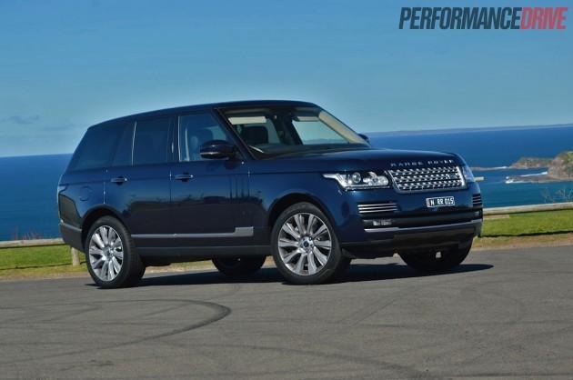 2013 Range Rover Vogue SE Baltic Blue
