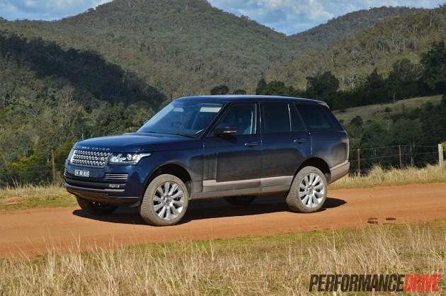 2013 Range Rover Vogue SE raised suspension