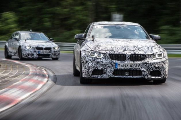 2014 BMW M3 and M4 prototypes