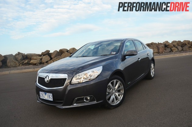 2014 Holden Malibu CDX front side