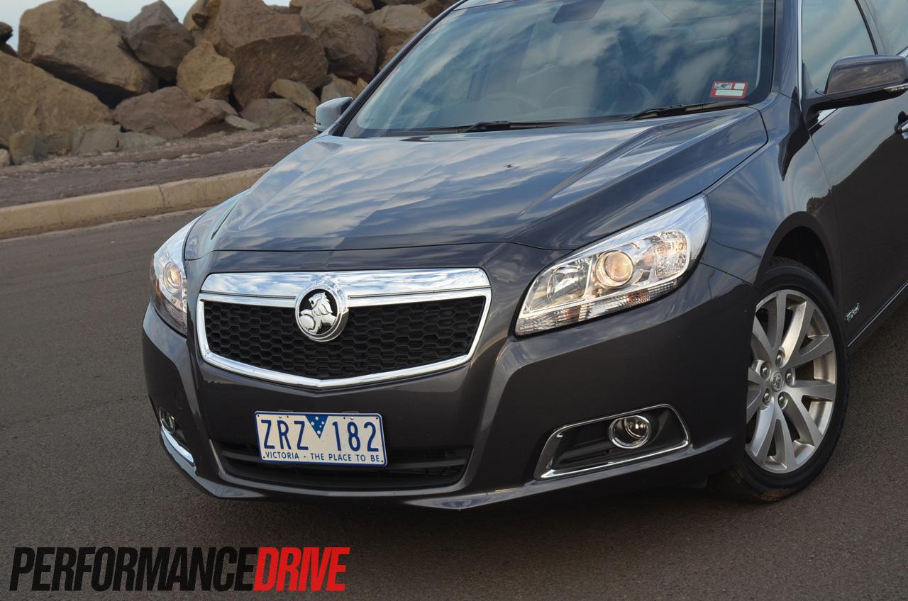 2014 Holden Malibu CDX front styling