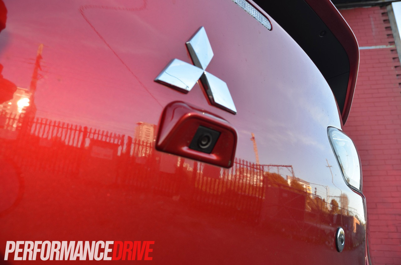 2014 Mitsubishi Lancer Evolution X Mr Reverse Camera
