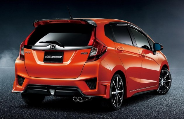 2014 Mugen Honda Jazz rear