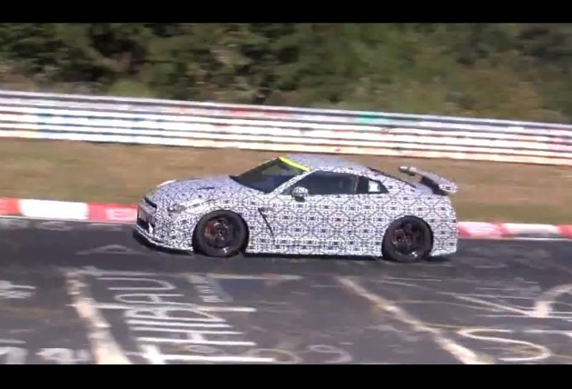 2014 Nismo Nissan GT-R prototype at Nurburgring