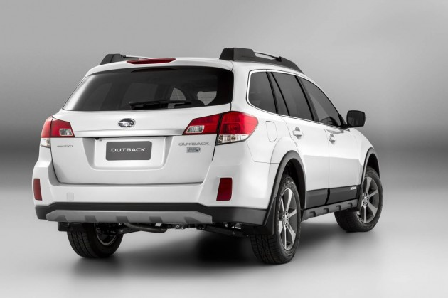2014 Subaru Outback rear
