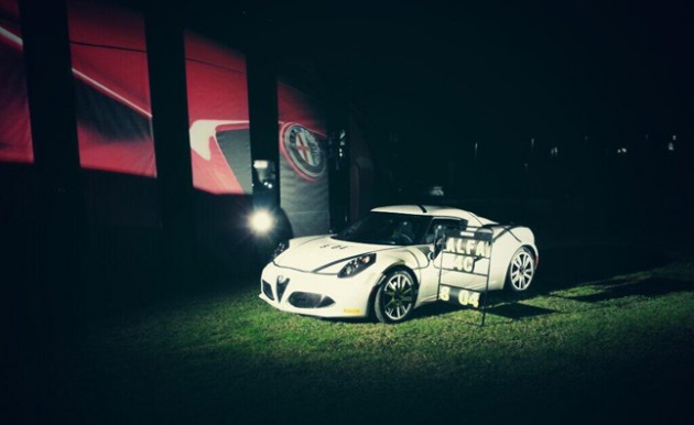 Alfa Romeo 4C Nurburgring