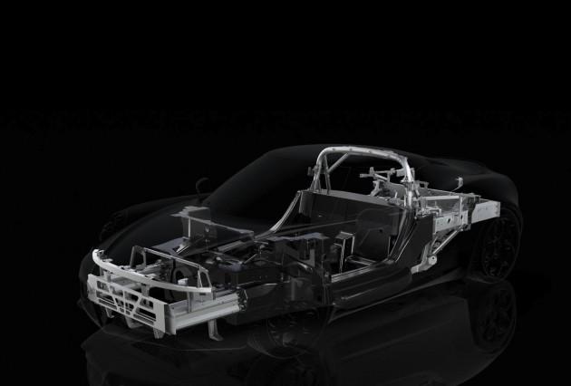 Alfa Romeo 4C chassis