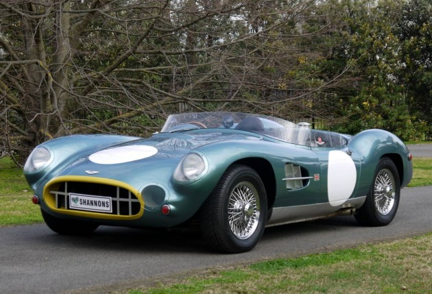 Aston Martin DBR2 replica-Shannons auction