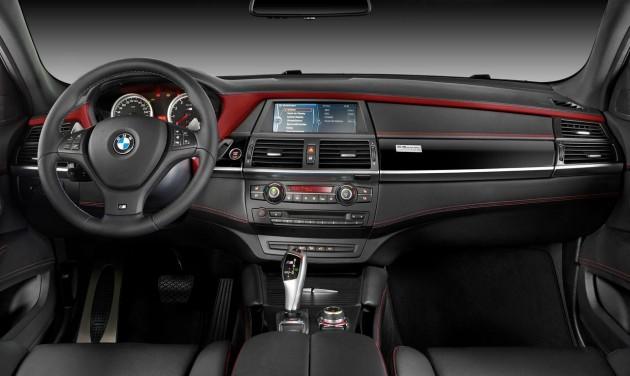 BMW X6 M Design Edition interior