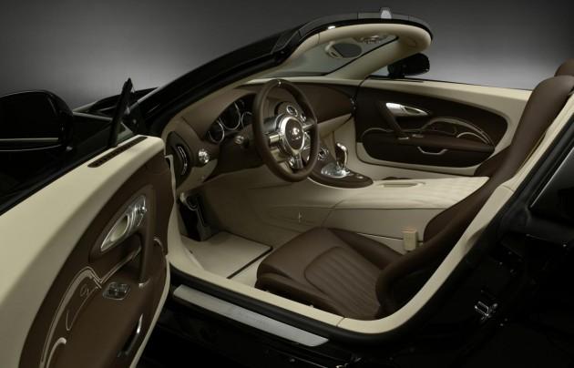 Bugatti Veyron GS Vitesse Jean Bugatti edition gear interior