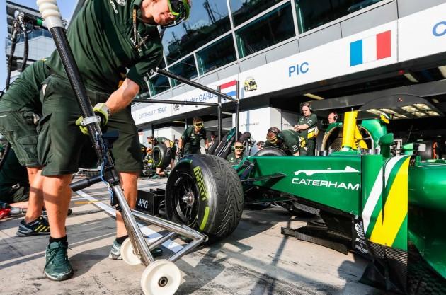 Caterham F1 teaser