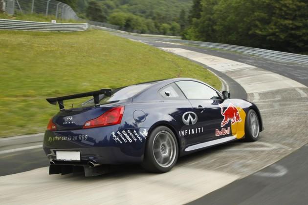 Infiniti G37 Coupe track car-Nurburgring