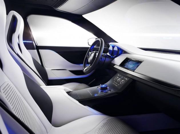 Jaguar C-X17 concept interior