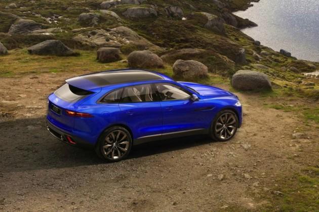 Jaguar C-X17 concept rear