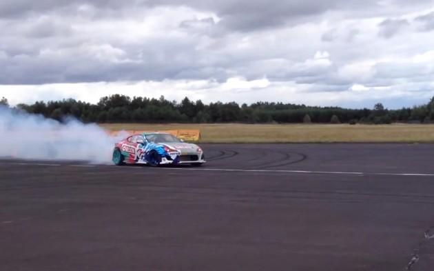 Jakub Przygonski 217kmh drift Toyota 86 2JZ 1000hp