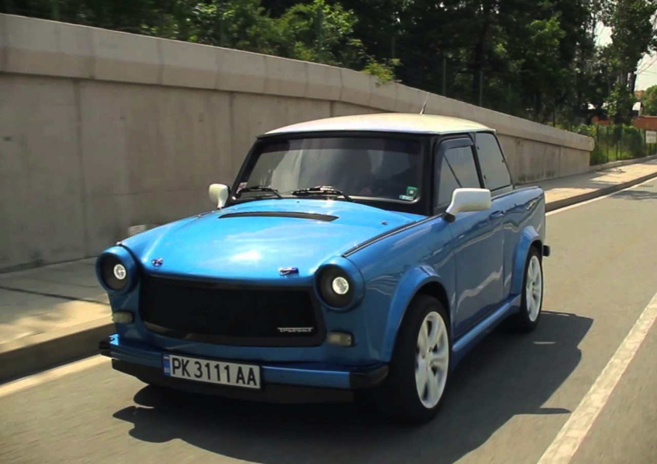 Kokonja Trabant With Power To Weight Of Ferrari 458 Video