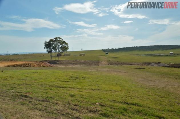 Luddenham Raceway site-September 6 2013