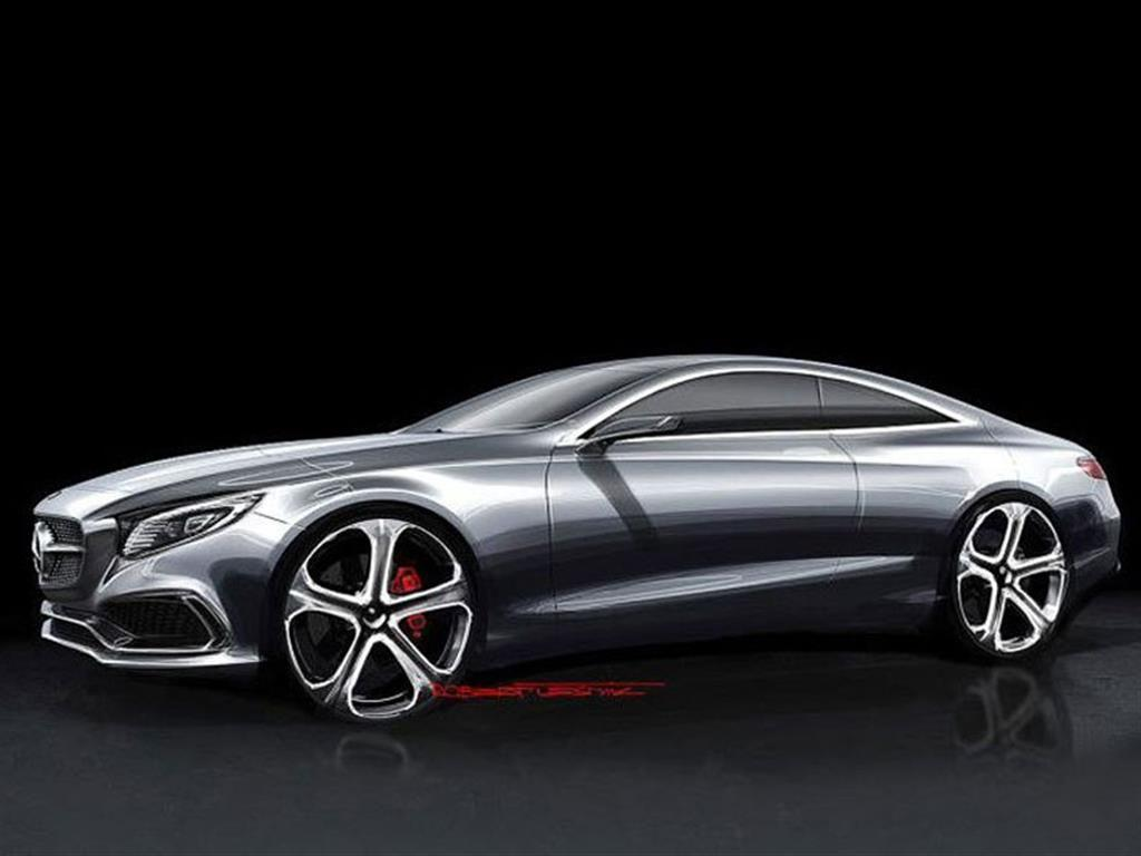 Mercedes benz s class coupe set for frankfurt debut for Mercedes benz frankfurt