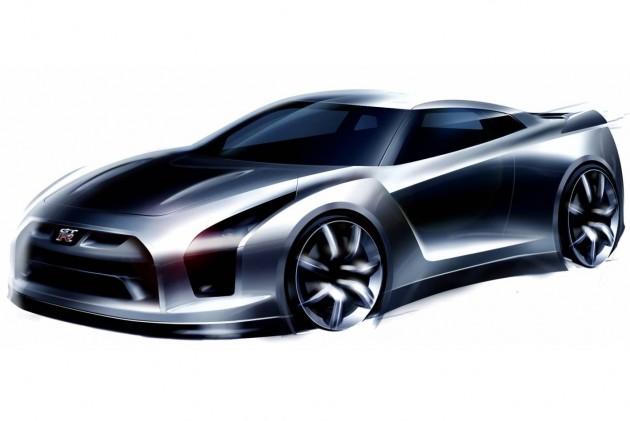R35 Nissan GT-R Proto concept