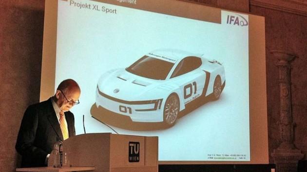 Volkswagen XL Sport concept-Ducati power