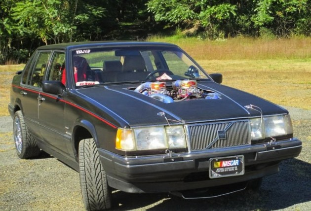 1992 Volvo 960 with Dart 565 quad turbo V8