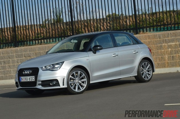2013 Audi A1 Sportback S line Competition-Ice Silver