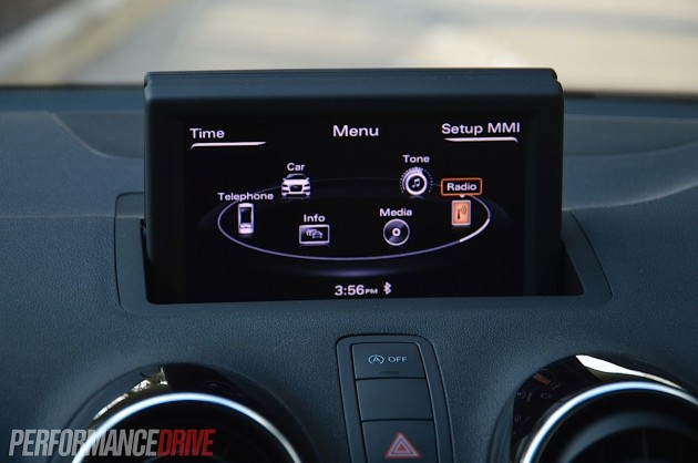 2013 Audi A1 Sportback S line Competition-MMI interface