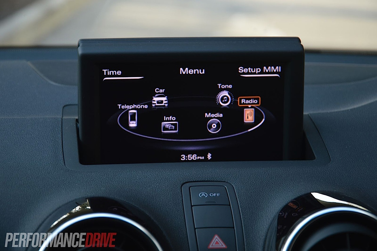 2013 audi a1 sportback s line competition mmi interface. Black Bedroom Furniture Sets. Home Design Ideas