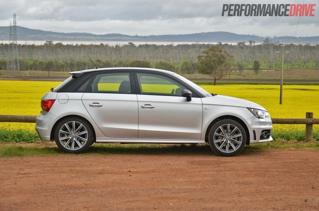 2013 Audi A1 Sportback S line Competition four-door