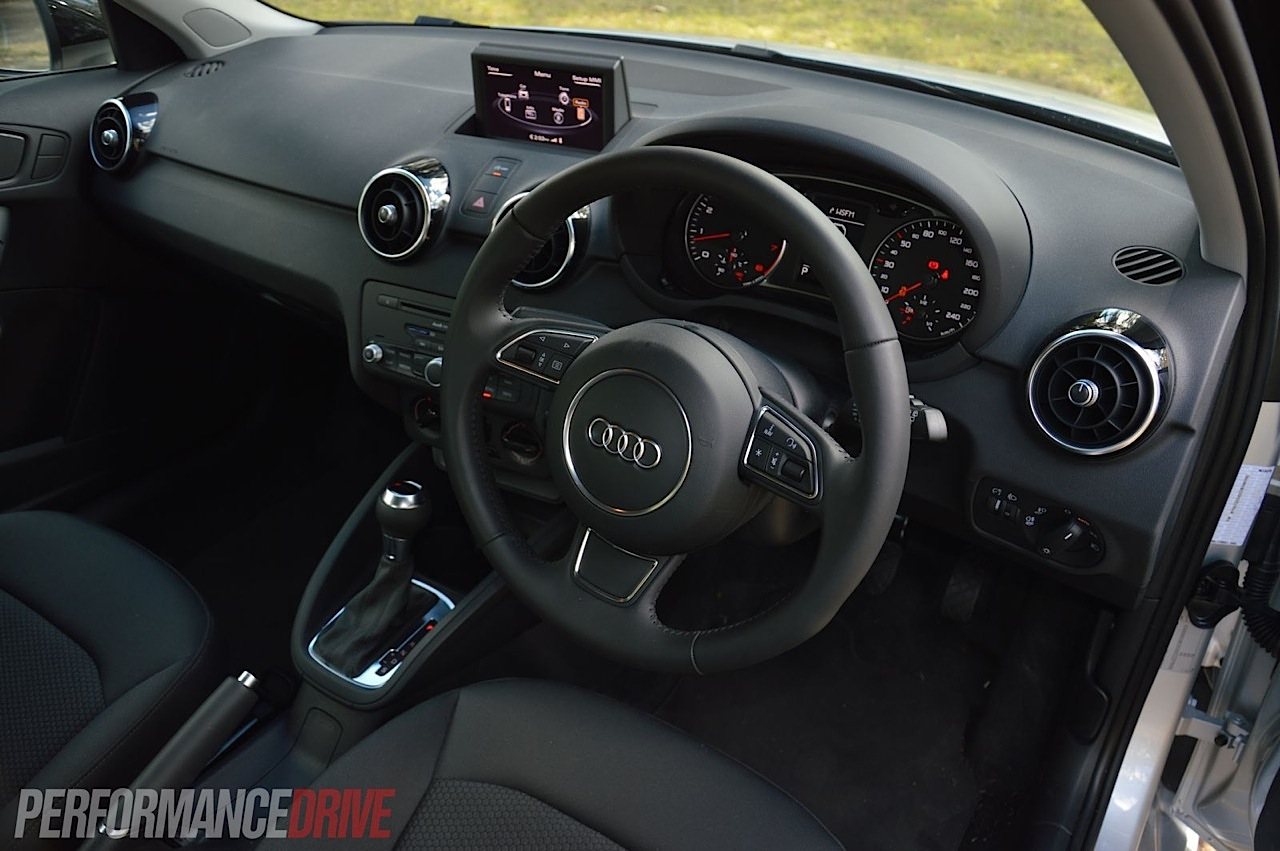 2013 Audi A1 Sportback S Line Competition Interior