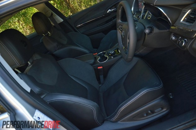 2013 HSV Gen-F GTS front seats