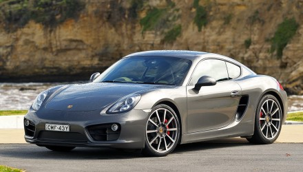2013 Porsche Cayman S-Agate Grey Metallic