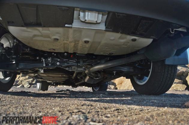 2013 Toyota Rav4 Cruiser Rear Suspension