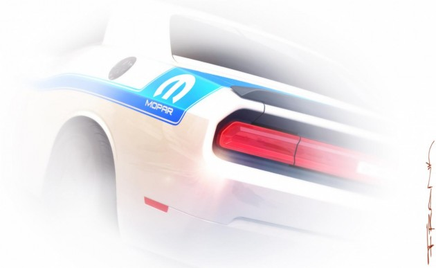 2014 Dodge Challenger Mopar edition-2013 SEMA