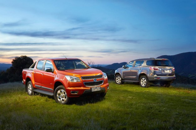 2014 Holden Colorado and Colorado 7