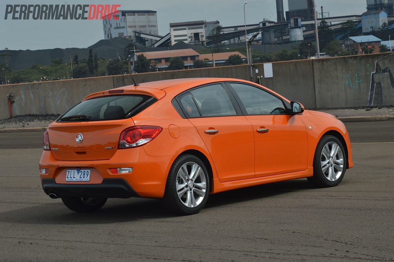 2014 holden cruze sri v fantale orange. Black Bedroom Furniture Sets. Home Design Ideas